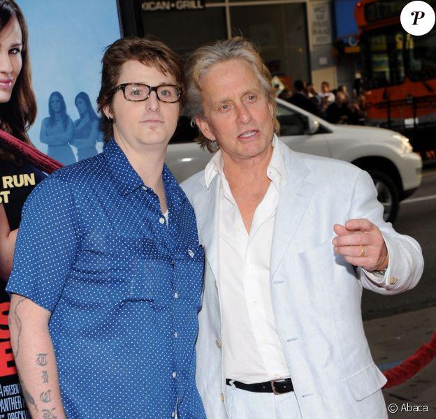 Michael Douglas et son fils Cameron