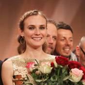 Diane Kruger : Dans les bras de ses parents, de Richard Gere ou de Karl, elle est... la plus resplendissante des fleurs !