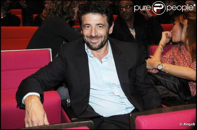 Patrick Bruel à la générale du spectacle Roméo et Juliette, au Palais des Congrès de Paris. 4/02/2010
