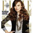 Keira Knightley en couverture du magazine Elle US