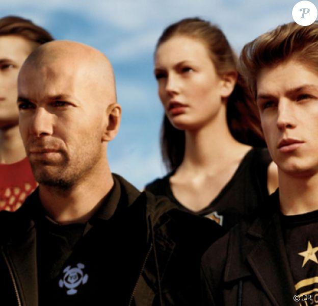 Zinedine Zidane pour Y-3