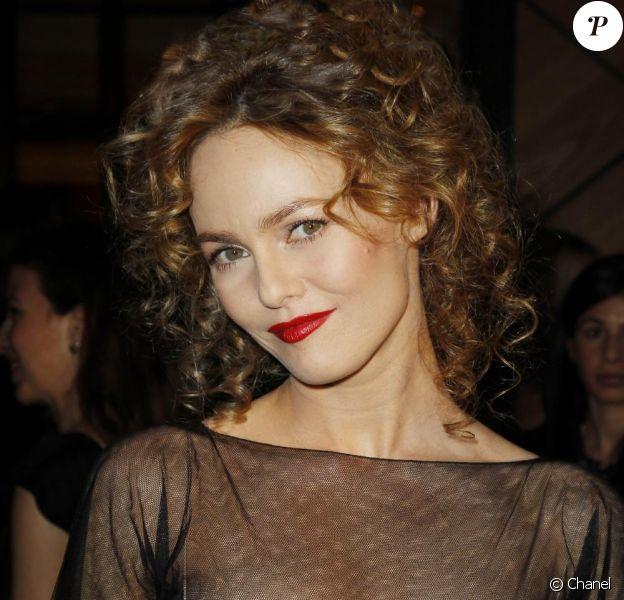 Vanessa Paradis lors de la soirée Chanel à New York pour le lancement du Rouge Coco