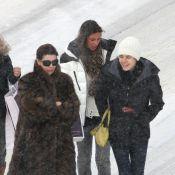 Caroline de Monaco et ses jolies filles Charlotte et Alexandra : quand elles s'éclatent au ski, c'est toujours chic !