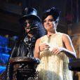 Les NME Awards 2010, qui se sont déroulés le 24 février à Londres, ont notamment récompensé Lily Allen (photo : avec Slash)
