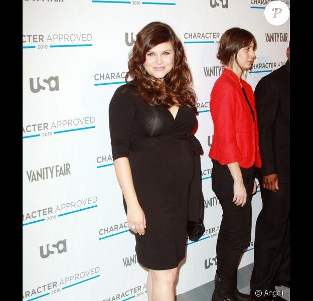 Tiffani Thiessen aux USA Network's Character Approved Awards, qui se sont tenus à l'IAC Building, à New York
