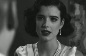 Agyness Deyn : Brune, glamour, au bord des larmes... Regardez, elle est sublime !