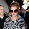 Britney Spears se rend dans un salon de coiffure de West Hollywood le 4 mars 2010