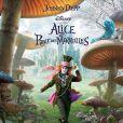 Johnny Depp dans  Alice in Wonderland , de Tim Burton.