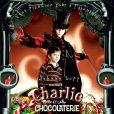 Johnny Depp dans  Charlie et la chocolaterie , de Tim Burton.