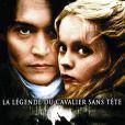 Johnny Depp dans  Sleepy Hollow , de Tim Burton.