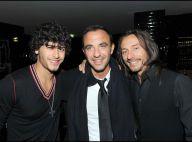 Jesus Luz : Nikos Aliagas et Bob Sinclar sont les premiers fans du boyfriend de Madonna... Quel beau trio !