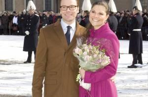 Victoria de Suède monte sur le podium, sous les yeux de son fiancé Daniel en pleine forme !