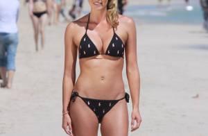 La superbe Kelly Landry, la Victoria Silvstedt américaine... expose son corps de rêve en bikini !
