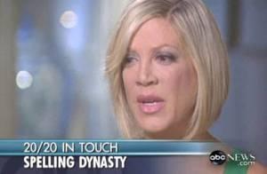 Fille de producteur milliardaire, Tori Spelling avoue avoir été pourtant au bord de la ruine...