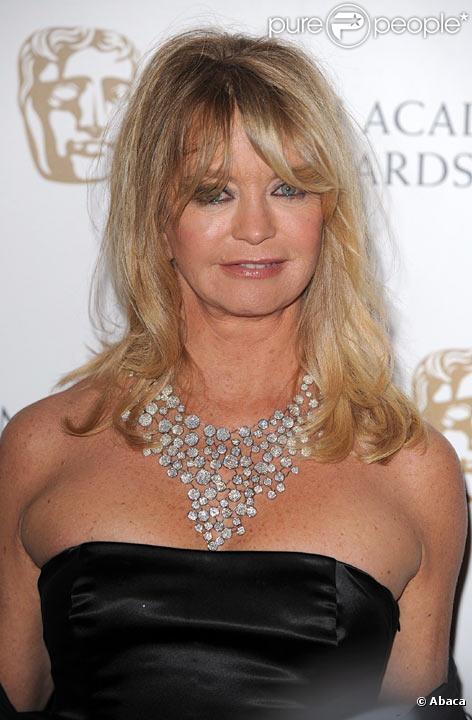 Goldie Hawn en février 2009