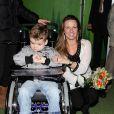 La princesse Annette participe à l'inauguration d'un centre de soins pour personnes handicapées mentales, le 27 mars 2010