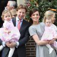 La famille royale des Pays-Bas était au grand complet pour le baptême de la petite Eliane, le 28 mars 2010