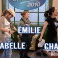 Annabelle en trio avec Chadia et Emilie de Nouvelle Star