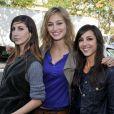 Tania Bruna-Rosso, Pauline Lefèvre et Elise Chassaing et le  Grand Journal  épinglés par  Télérama , le 6 avril 2010 !