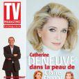 TV Magazine avec Catherine Deneuve en couverture