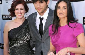 Demi Moore somptueuse, entourée de sa fille Rumer Willis et de son mari Ashton Kutcher !