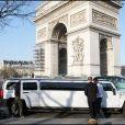 TF1 a fait les choses en grand : limousine pour les finalistes ! (9 avril 2010 à Paris)