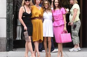 Sex and the City 2 : Revivez le tournage des quatre New-Yorkaises chic et choc ! Un vrai délice !