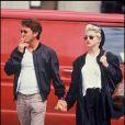 Sean Penn et Madonna, deux caractères bien trempés mariés de 1985 à 1988 !
