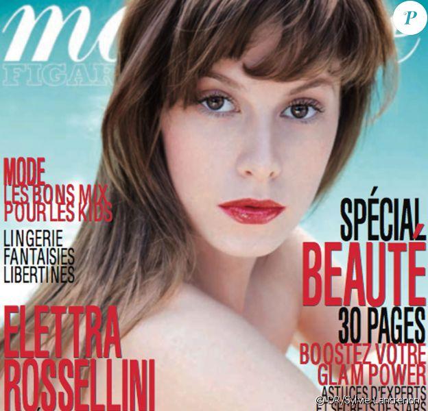 Elettra Rossellini en couverture de Madame Figaro