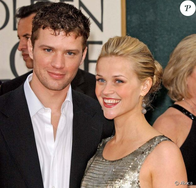 Ryan Phillippe et Reese Witherspoon aux Golden Globes, en janvier 2006 !
