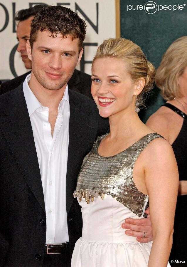 Ryan Phillippe et Reese Witherspoon aux Golden Globes, en janvier 2006 !