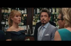 Regardez Robert Downey Jr. dans une situation bien embarrassante... avec Gwyneth Paltrow !