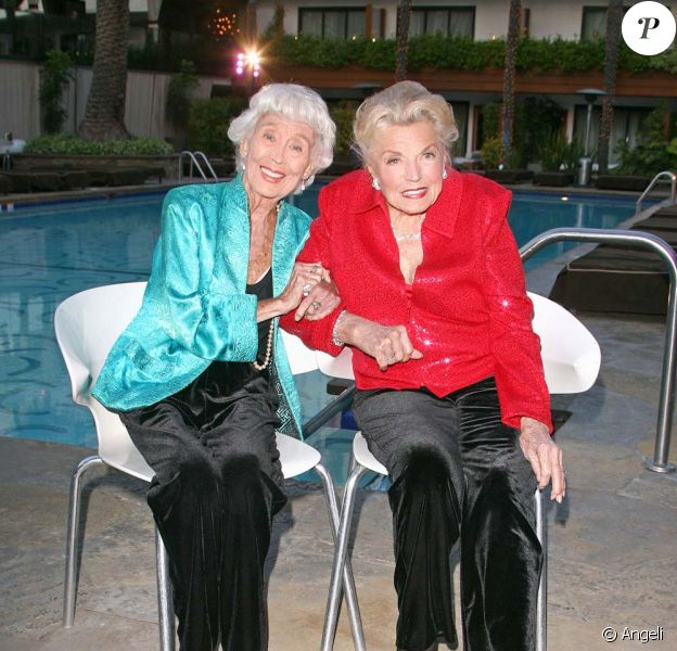 Esther Williams, la sirène d'hollywood, et Betty Garrett pour le Festival du Film classique TCM à Los Angeles, le 22 avril 2010 !