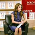 Rania de Jordanie à la librairie Borders Books & Music à New York, le 27 avril 2010