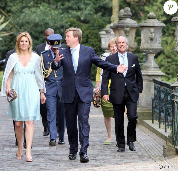 Maxima et Willem-Alexander des Pays-Bas, adeptes du vélo, ont célébré le 28 avril 2010 le cinquantenaire de la Fondation Duivenvoorde