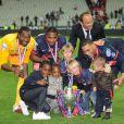 L'équipe du Paris-Saint-Germain a remporté la Coupe de France, au Stade de France, le 1er mai 2010.