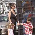Michael Douglas, Catherine Zeta-Jones et leurs enfants en 2007