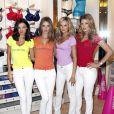 Miranda Kerr, Rosie Huntington-Whiteley, Candice Swanepoel, et Doutzen Kroes à Los Angeles pour Victoria's Secret, le 11 mai 2010