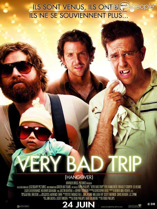 Very Bad Trip  fait partie des favoris pour les  MTV Movie Awards 2010 .