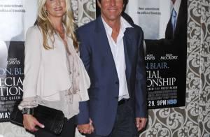 Dennis Quaid et sa femme Kimberly... plus souriants et sereins que jamais !