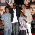 Sean 'P. Diddy' Combs en famille lors de l'avant-première de Get him to the Greek à Los Angeles le 25 mai 2010