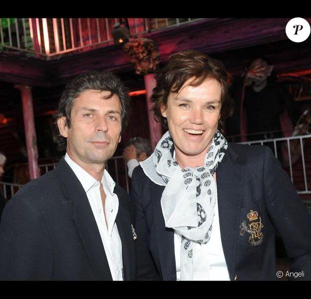 Claire Nebout et Frédéric Taddeï