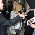 Sarah Jessica Parker quitte son hôtel londonien le 28 mai 2010