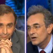 """Violent clash dans On n'est pas couché : Regardez Eric Zemmour se faire traiter de """"fasciste"""" par Georges-Marc Benamou !"""