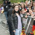 Retour triomphal de Lena Meyer-Landrut, gagnante de l'Eurovision 2010, à Hanovre, le 30 mai 2010 !