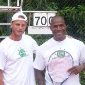 Tournoi des personnalités 2010 - Arnaud Lemaire, PPDA ou Jean-Pierre Castaldi : des tennismen en grande forme !