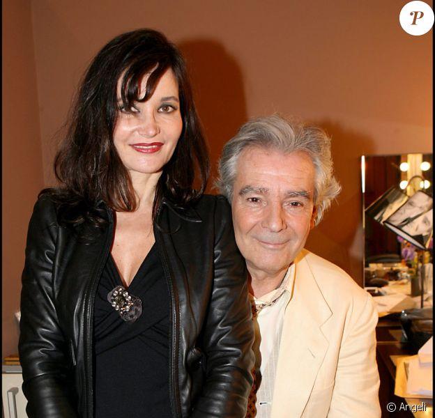 Pierre Arditi et Evelyne Bouix en février 2007