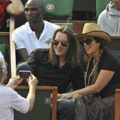 Roland-Garros 2010 - Hélène Ségara : une cowgirl amoureuse devant une Grace Jones en famille !