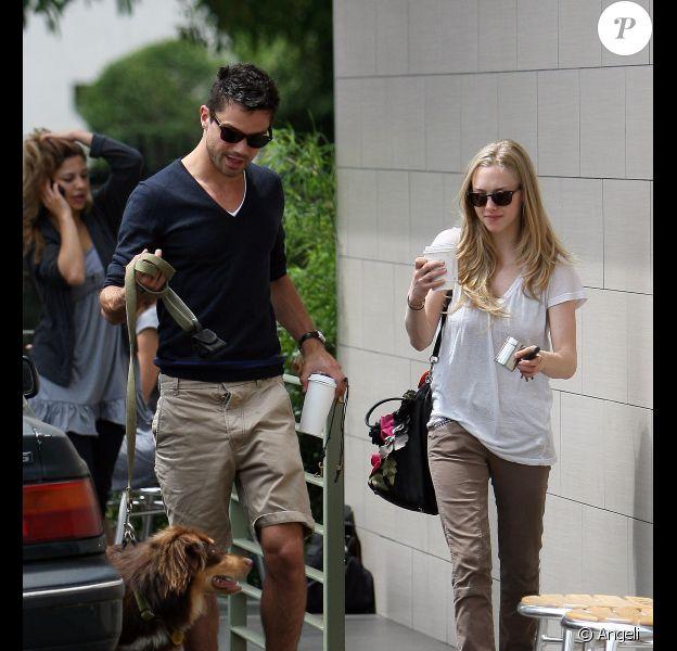 Après une séance sportive, Amanda Seyfried et Dominic Cooper ont passé la journée ensemble. Le 11 juin 2010