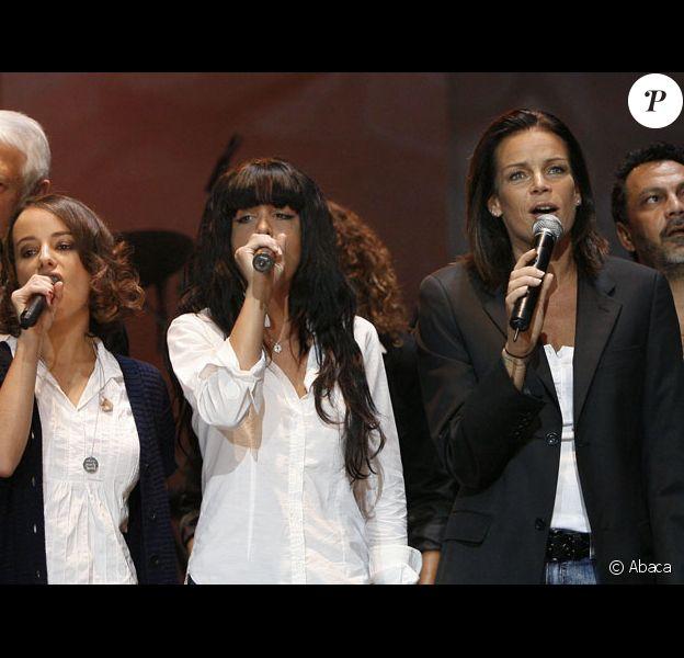 Alizée, Jenifer, Stéphanie Grimaldi au Gala Fight Aids à Monaco